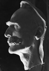 Maska pośmiertna Marsz. J.Piłdudskiego