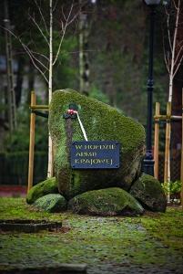 Miejsce pamieci kamien